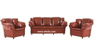 en ucuz ofis kanepeleri-üçlü kanepeler