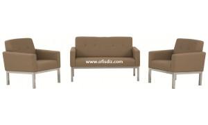 Perge üçlü Oturma Grubu Ofis kanepeleri